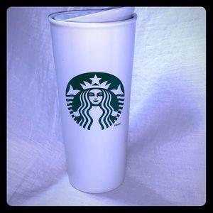 STARBUCKS Ceramic Travel Mug-16oz grande size